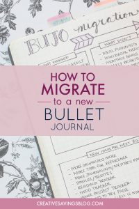 Wondering what to do when you run out of space in your Bullet Journal? This is THE BEST step by step guide for Bullet Journal migration. She breaks everything down so it's not overwhelming. I kicked my clunky planner to the curb a year ago and when I had to migrate I thought about going back... until this post showed me how to migrate my bullet journal! It's actually pretty easy!