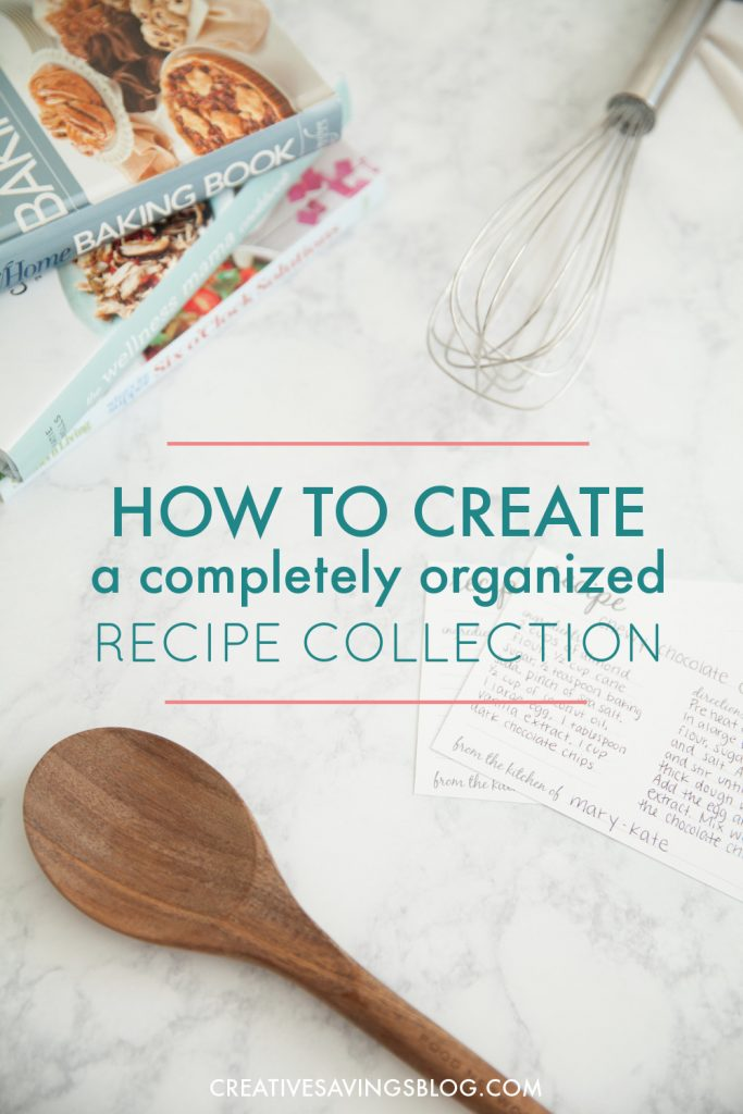 The trick to keeping recipes organized is to find a system that works for you. These three methods are the most popular options out there, and turn your recipe clippings into a deliciously organized collection! #recipeorganization #howtoorganizerecipes #recipebook #recipebinder