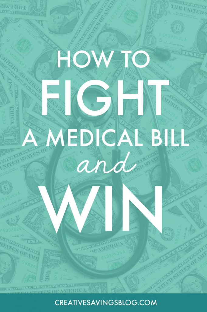 Oh wow! She fought a medical bill for almost two years and WON! I'm embarrassed to admit that I don't really understand my insurance and or exactly what is covered, but I would hate to be stuck with a medical bill like this. She offers a great step-by-step guide to dispute an unexpected charge. I'm going to use this the next time I have a question about my bill!