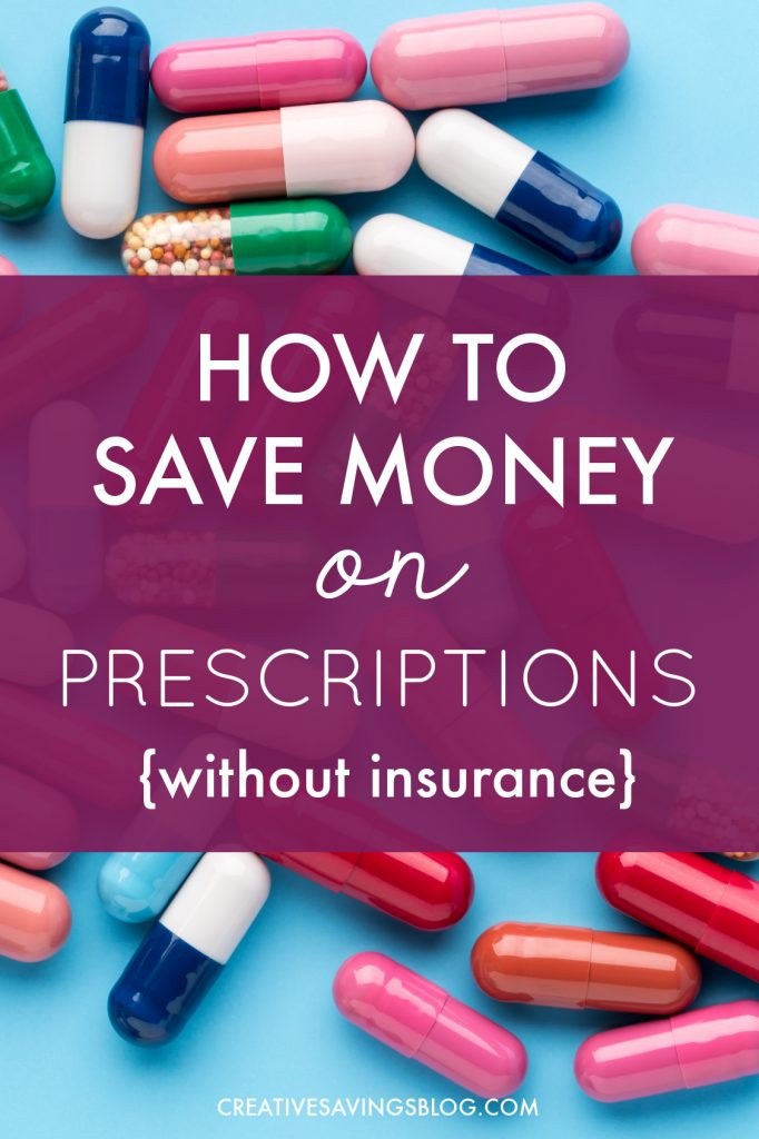 The outrageous cost of prescriptions has done damage to my budget on more than one occasion...mostly because we don't have insurance to cover all our pills. After trying the website mentioned in this post, we're saving more now than we did even WITH insurance. It's totally crazy!