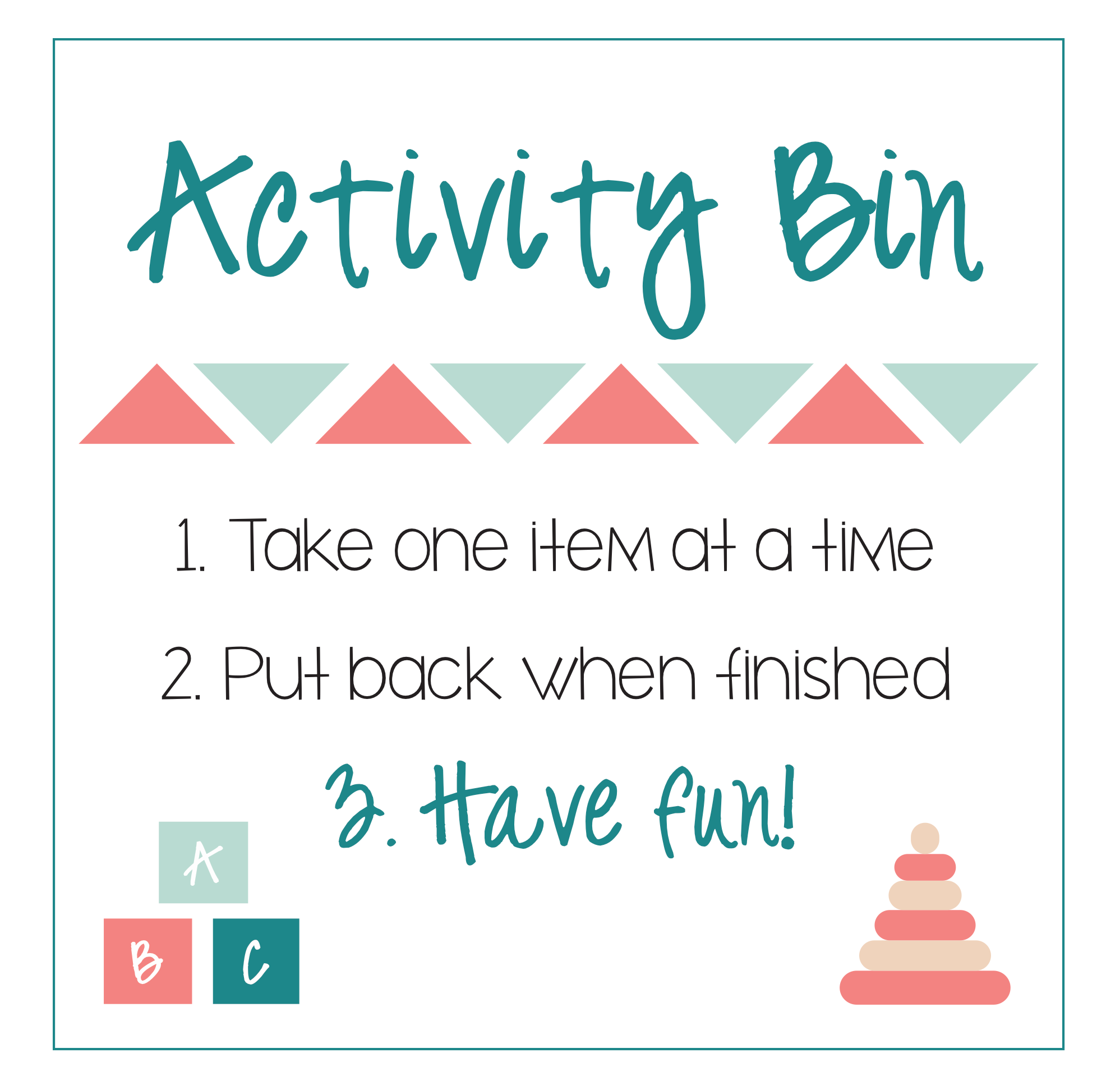 Keep kiddos quietly entertained with this simple DIY Kids Bin. Rotate different activities in and out every month, and you'll have hours of creative play at your fingertips!
