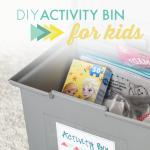 DIY Activity Bin for Kids