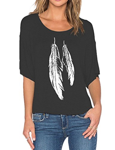 Amazon: Where to Find Clothes Online - Feather Shirt