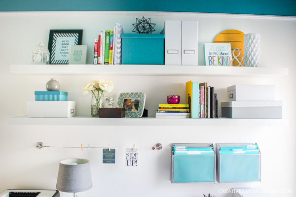 Colorful Home Office a gorgous home office you can't wait to work in