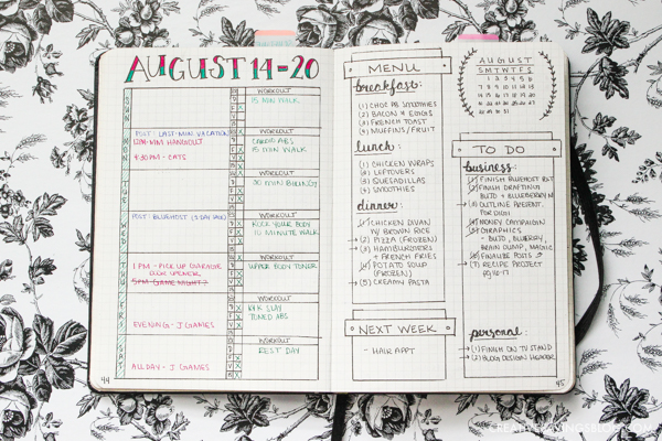 brilliant bullet journal collection ideas you u0026 39 ll want to try