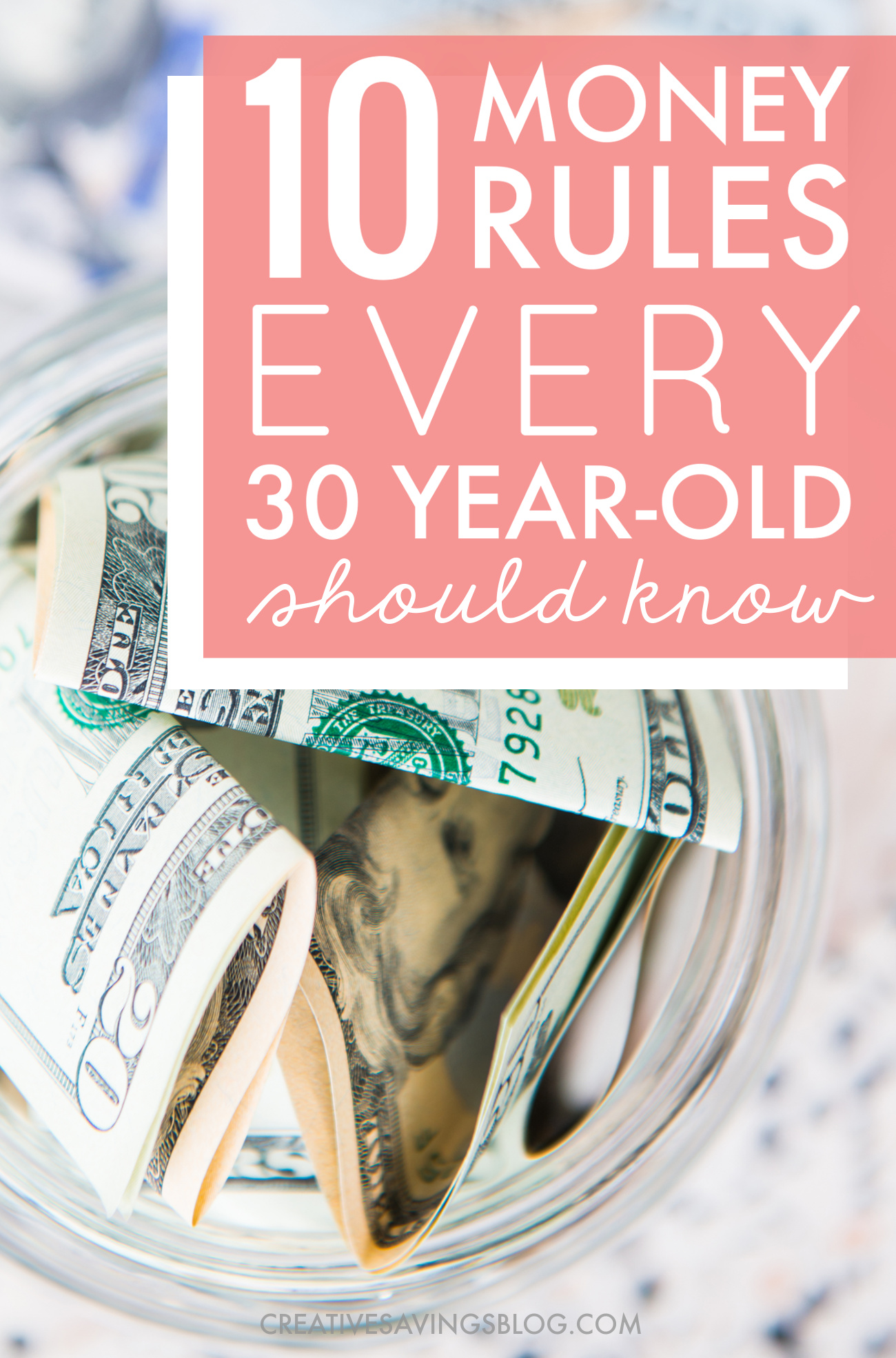 When it comes to financial planning in your 30s, it's all about avoiding money mistakes and smart planning for retirement. These money tips for your 30s are exactly what you need to kick your butt in gear! Don't just read it, follow the advice!!!