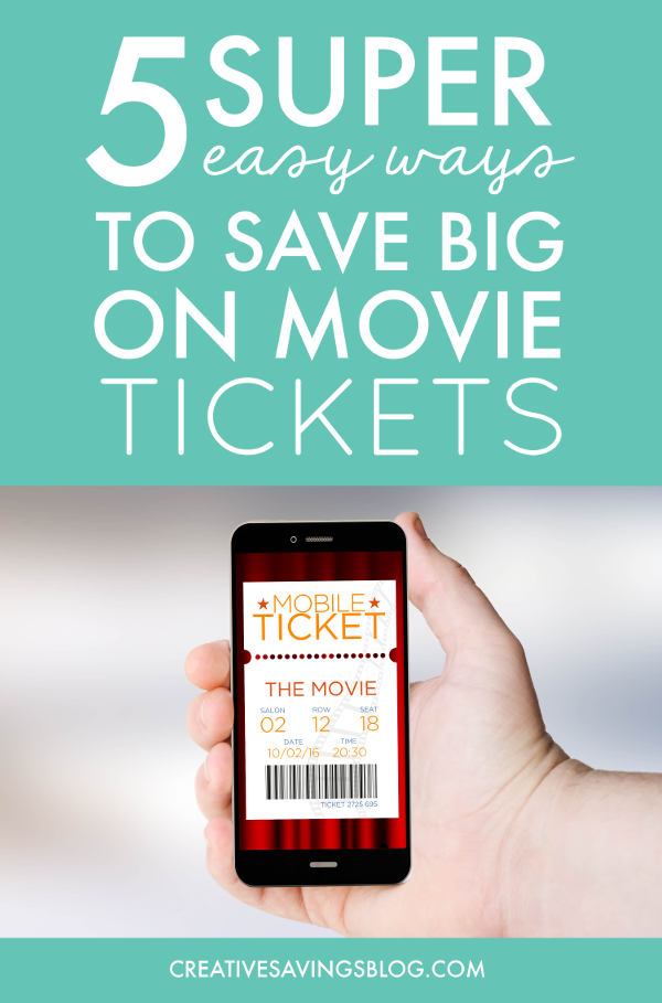 I thought I knew the best ways to save on movie tickets, but this article had two more ideas I never even thought of! Most people don't think of a night at the theater when you're brainstorming cheap date ideas, but it doesn't have to be that way. If you know where to look there are some great movie deals out there! #movieticketdiscounts #discountmovietickets #cheapmovietickets #moviecoupons