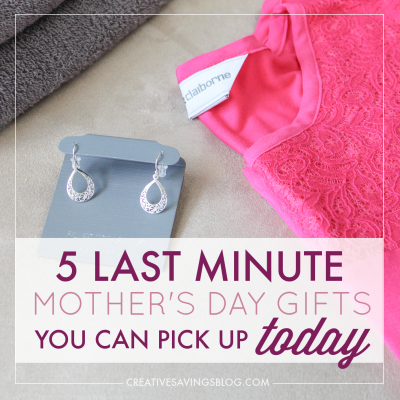 5 Last-Minute Mother's Day Gifts You Can Pick Up Today