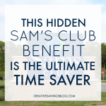 This Hidden Sam's Club Benefit is the Ultimate Time Saver