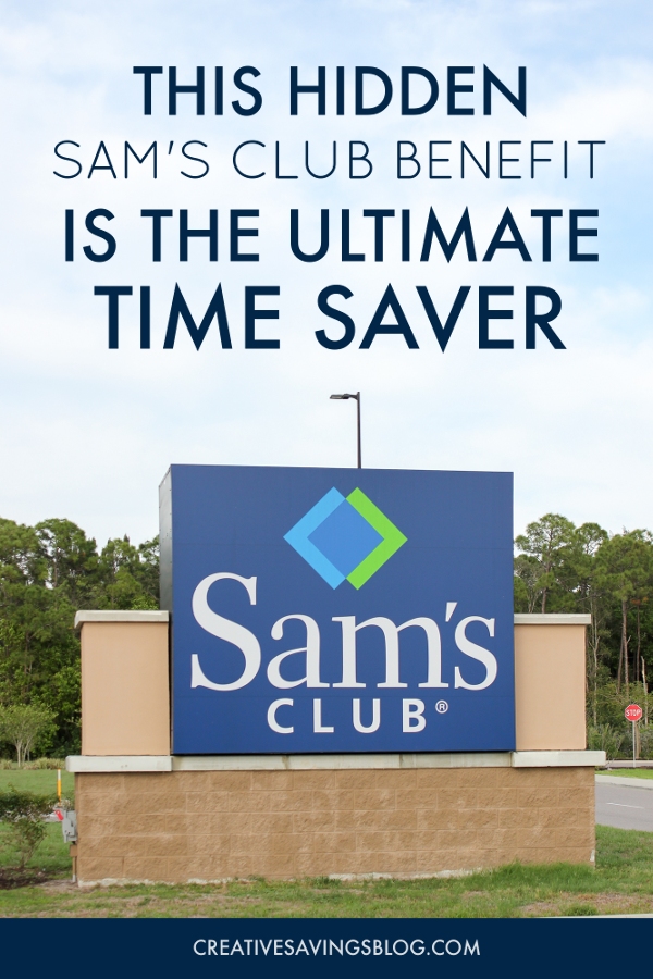 """How did I not know about this """"secret"""" Sams Club Hack!? I always spend way too much time wandering the aisles looking for items I need—now I can do everything from the comfort of my home and just stop in to pick everything up. This is how I'm doing all my Sams Club Shopping from now on!"""