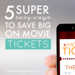 5 Super Easy Ways to Save Big on Movie Tickets