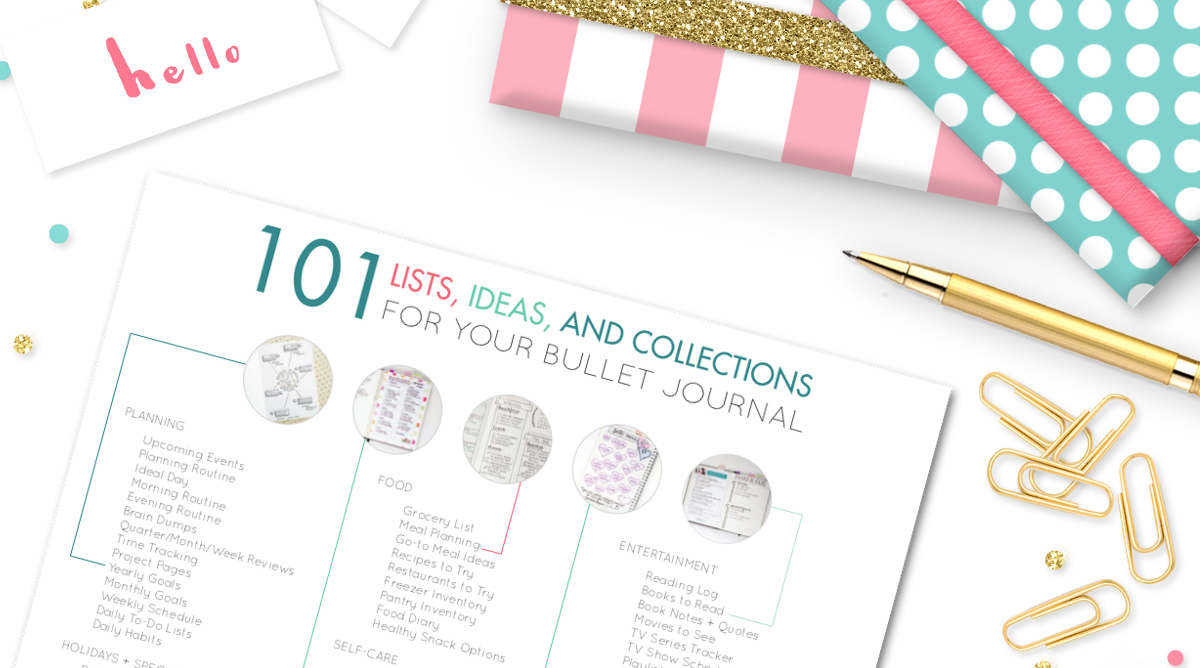 Brilliant Bullet Journal Collection Ideas Youll Want To Try