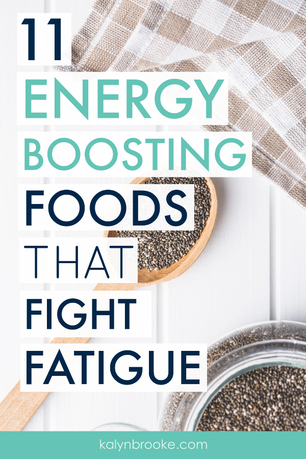 Tired of feeling tired? Instead of reaching for candy or coffee, try one of these energy foods to kick your body into high-gear. You'll stay fueled all day long without the inevitable sugar crash, and be noticeably more alert! #lowenergy #energyboostingfoods #healthyfoodstotry