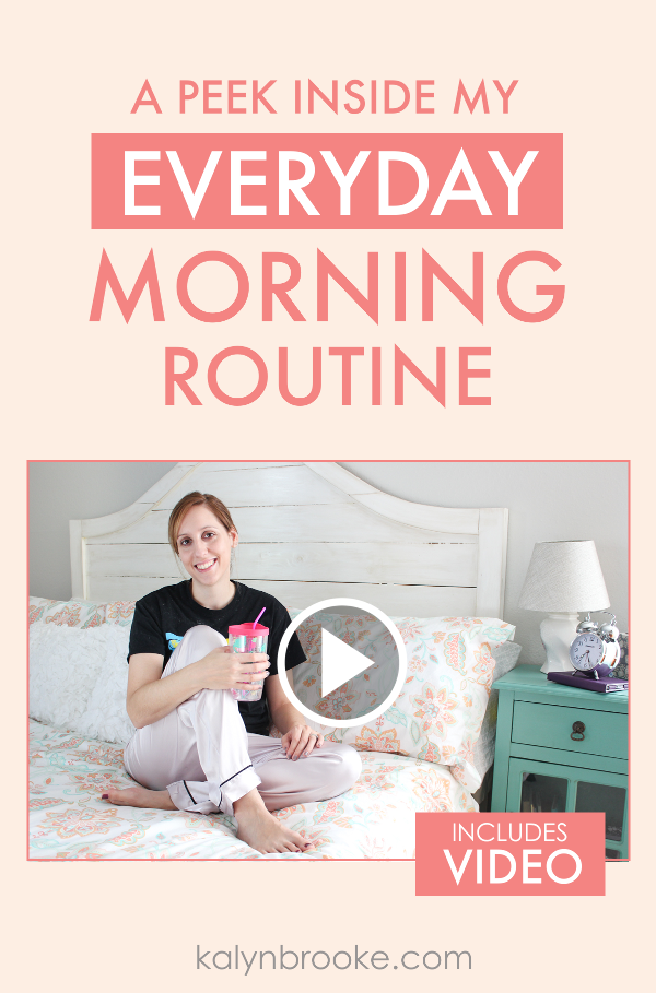 I've always struggled to find the perfect morning routine, and I hated the wake up early crowd that would make me feel bad if I wasn't up and productive by 5am! This girl totally gets me... and she's rocking it! I learned from her video that it's all about the routine, and not about the time. Totally going to be buying the Make Over Your Mornings course she talks about in the video as well!