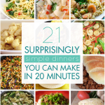 21 Surprisingly Simple Dinners You Can Make in 20 Minutes