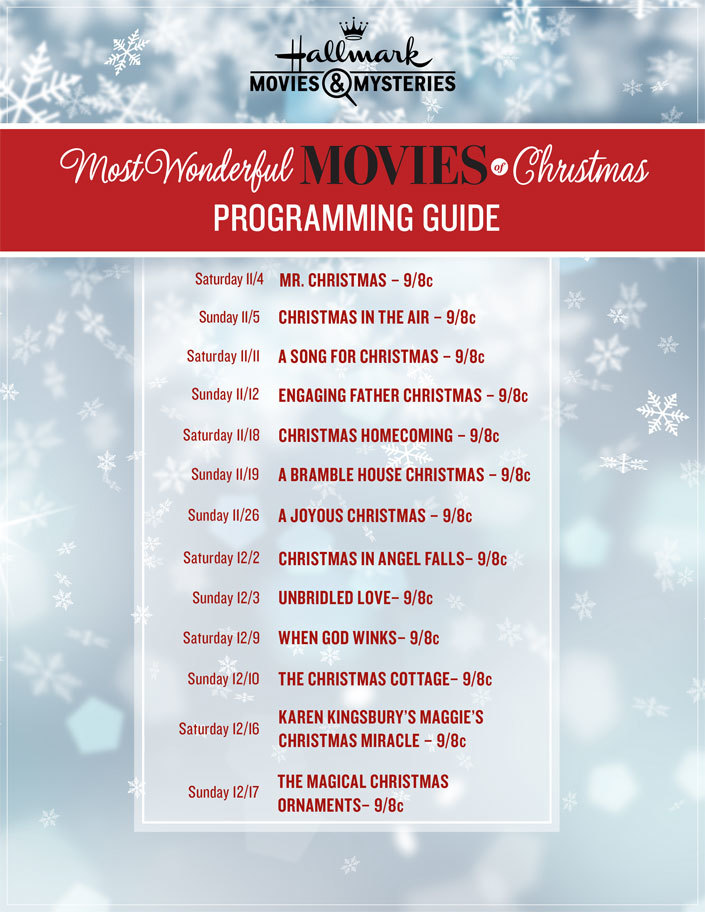 Hallmark Christmas Movie List Christmas Cards