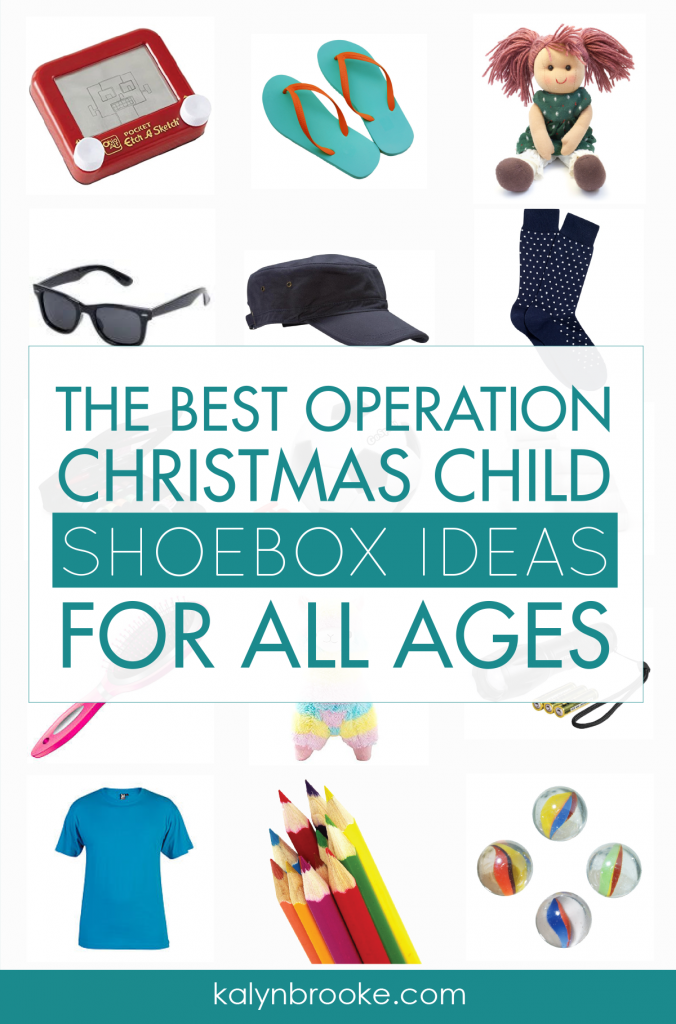 Christmas Shoebox.Huge List Of Operation Christmas Child Ideas For Each Age Group