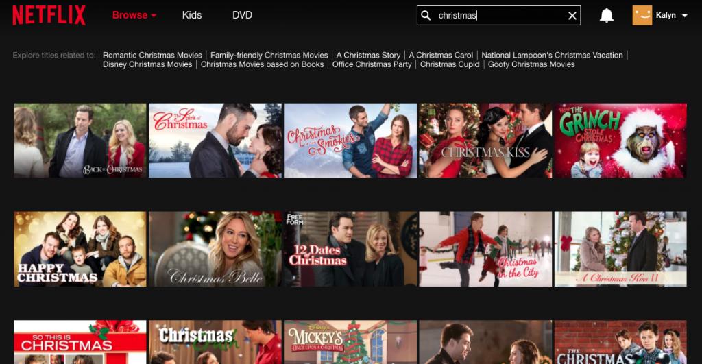 netflix christmas movies - Hallmark Christmas Movies On Netflix