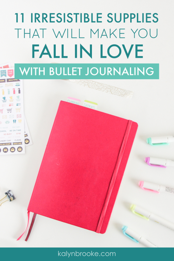 If you're like me, you could spend hours searching for the perfect bujo supplies. Trust me, I know because I've done exactly that! This list of bullet journal supplies has everything you need to start your bullet journal in one convenient place. #bulletjournal #bujo #bujohacks #bulletjournalingtips