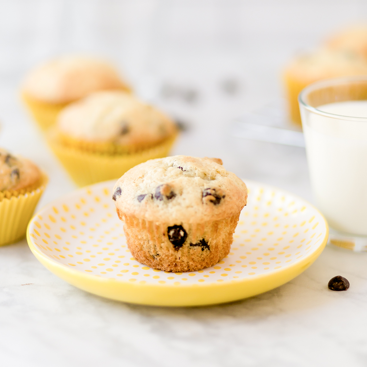 Welcome Home Chocolate Chip Muffins