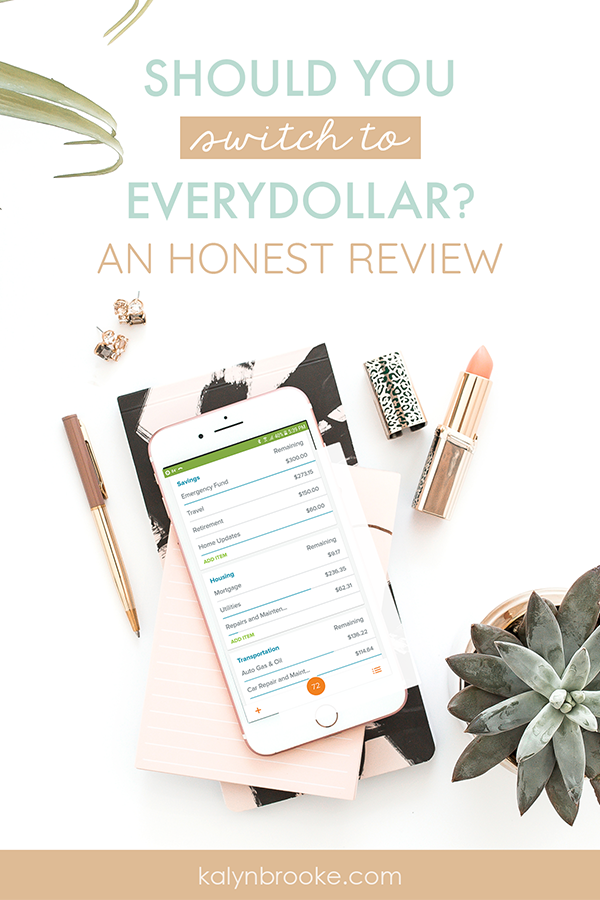 With so many budgeting apps to choose from, I couldn't figure out which one was best for my lifestyle. This comprehensive Everydollar app review was SUPER helpful! I've found that a lot of reviews are only over-positive or super-negative. I really like Kalyn's balanced approach. She lays out all the pros and cons of Everydollar. I also love that she gave a behind the scenes glimpse into her own budgeting system! #everydollarreview #budgetingapp #howtobudget #everydollar
