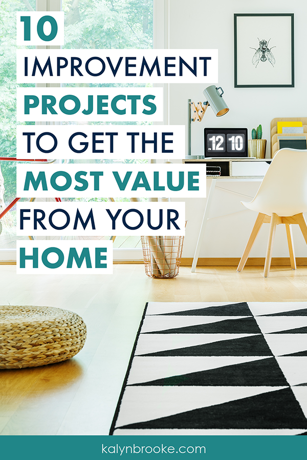 Whether you are selling your home, moving, or just wanting to add a little value, don't make the same mistake I did and pour a bunch of money into projects that didn't raise the value of my house by a penny! Instead, do one of THESE 10 home improvement projects to increase the value of your home. Best part is, most of them are pretty cheap - some of these home improvement ideas don't even cost a thing!