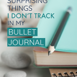 A bullet journal can organize everything in your life, IF you want it to. But sometimes other tools will track areas of your life more efficiently. Here are seven great examples of systems that you might find work even better than your BuJo!