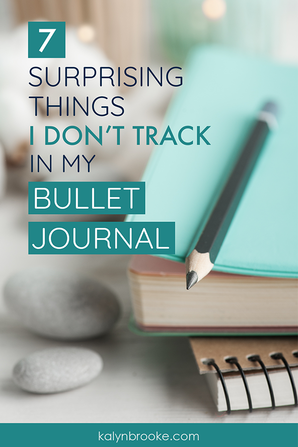 A bullet journal can organize everything in your life, IF you want it to. But does it excel at everything? Here are seven great examples of systems that might work even better than your #BuJo! #bulletjournal #bulletjournaling #productivity