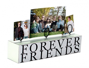 White Wooden Forever Friends Photo Clip