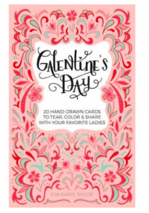 Pink Galentine's Day Card Book