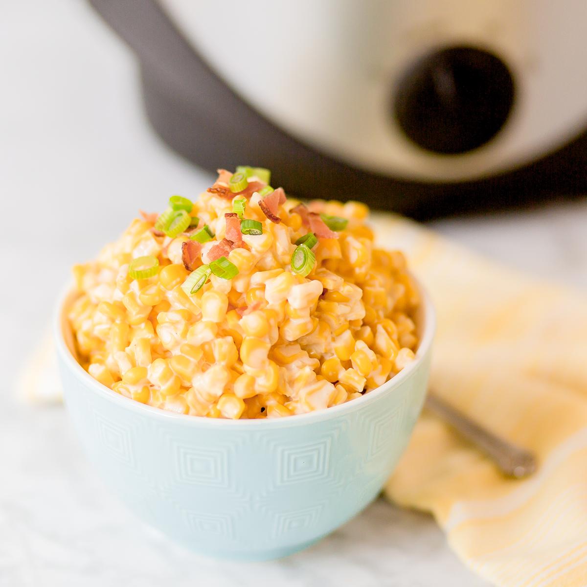 Crockpot Cream Cheese Corn Recipe
