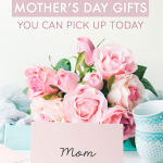 ACK! How did Mother's Day sneak up on me? I just spent the last hour searching for last minute Mother's Day gifts and I wish I had stumbled upon this post sooner! I wanted to find something memorable, but not too cliché. Practical, but sentimental too. These gifts check all the boxes and best of all, can be easily ordered online!