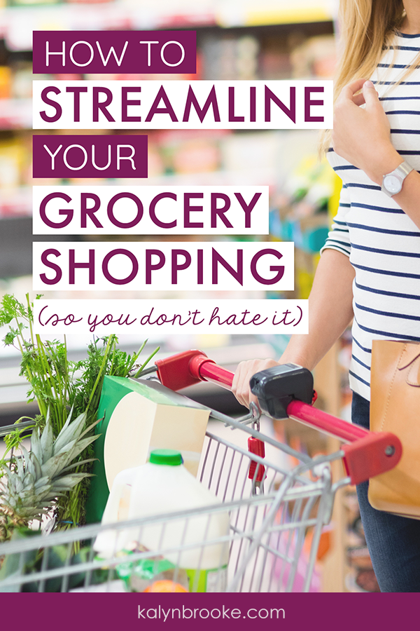 I HATE running errands and doing my weekly shopping. These grocery shopping tips helped me figure out how to make the most of my time by helping me plan efficiently with apps, save money without clipping coupons, and get in and out of the stores I visit as quickly as possible—and sometimes help me avoid them all together! #groceryshoppingtips #howtogroceryshop #grocerystoretips