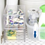 How to Organize the Awkward Area Under Your Kitchen Sink