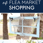 I've always avoided flea markets, but my mom insists on going {she loves them!}. Until I read this article and realized I was just doing it all wrong! There ARE treasures to be found at the flea market--and armed with these tips, I'm going to be the one to initiate our next flea market shopping trip for once!
