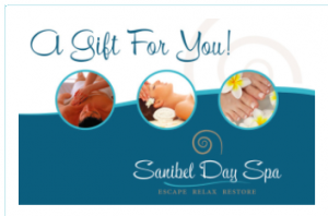 Sanibel Day Spa Gift Certificate