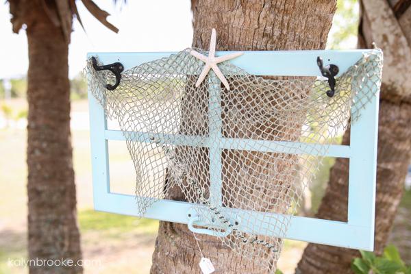 surprisingly amazing flea market items: beautiful blue window frame