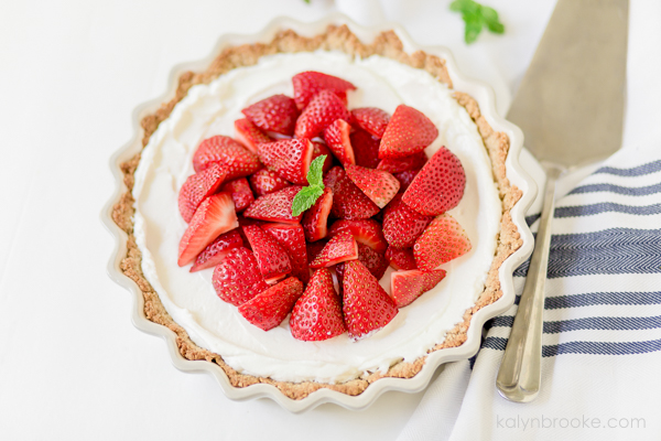 quick strawberry tart