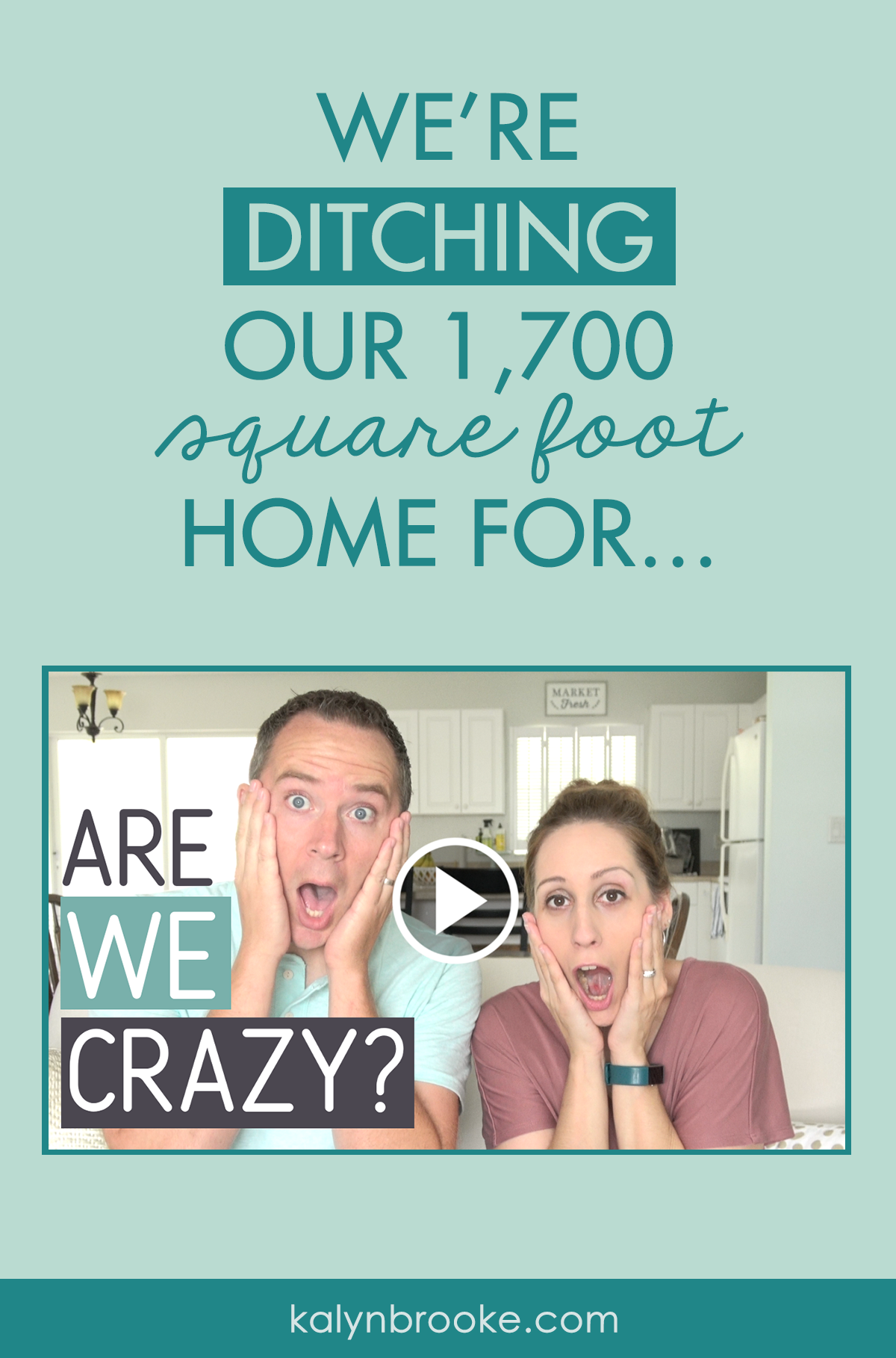 OH my! This woman and her husband are selling their house and going on the adventure of a lifetime! I've never heard of anything like it, but suddenly I'm thinking about my own bucket list and that one thing I've always wanted to do. Maybe, just maybe, I could do something risky but worth it, too! #downsizing #lifechange #adventure #bucketlist
