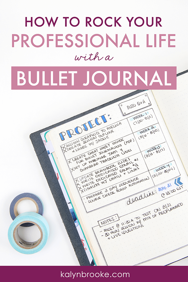 Bullet journaling, in all it's glorious customizability has transformed my home and personal life. But I have been STUMPED about how to use it at the office! I tried to separate my work/home life into two journals, but that did NOT work. It's hard to carry around two notebooks all the time! And once I brought one notebook to a meeting, but I actually needed the other. Ugh! #nightmare This idea of having it all in one though is GENIUS. And I especially love idea #2 here! #bujo #bulletjournaling