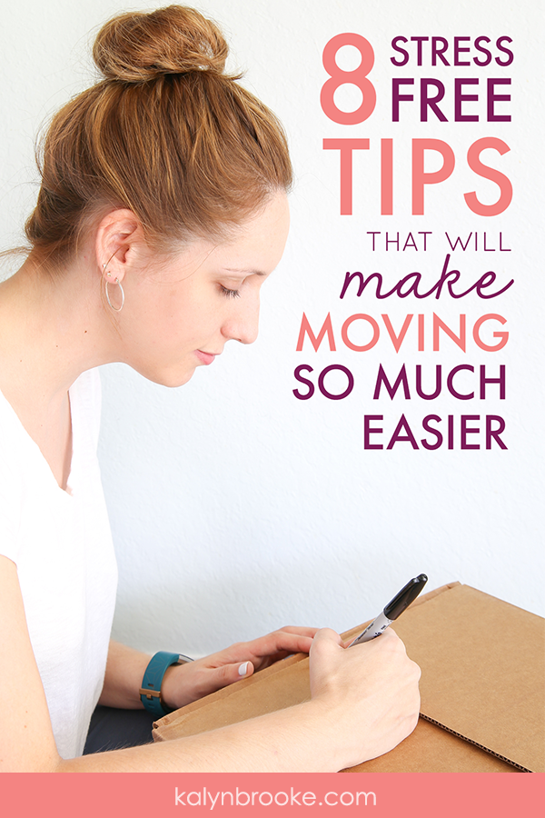 Big news: we're moving! Not surprising: I'm already dreading it. The packing, the prepping; ugh, sometimes I wish I could hire someone to do it all for me. But these 8 moving tips and tricks might just change everything. I never would have thought of her duct-tape hack, and who knew you could find used moving boxes so many random places! Maybe I can do this move stress-free after all! #movingtips #howtomove #howtopack #movinghacks