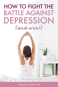 Here's the hope I've been looking for. I had been waiting until I felt ready or good enough to start trying to fight my depression. Newsflash: I never feel ready. But these five practical tactics seem doable. I'm going to download the app she recommends in #3 right now! #fightdepressiontips #overcomingdepression #selfcare #howtogetoverdepression