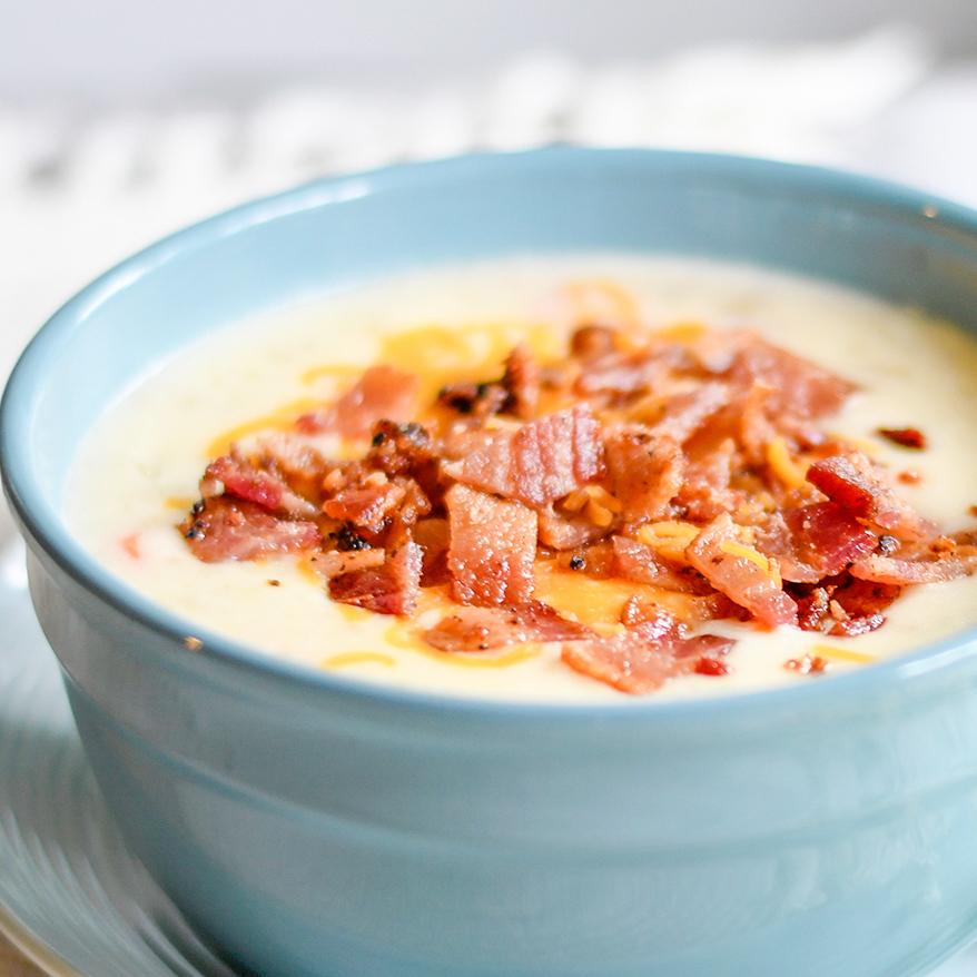 The Best Potato Soup Recipe Ever! Seriously, Though