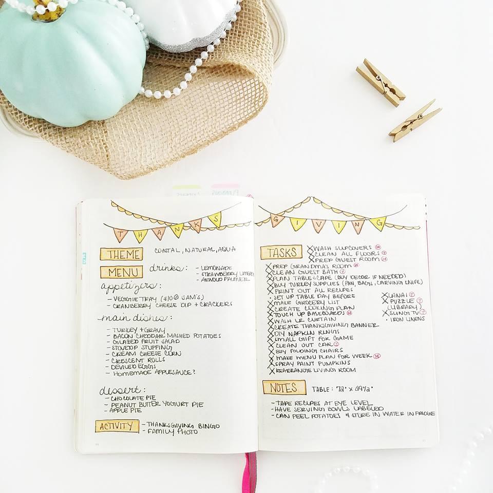 Thanksgiving tips, checklist, & timeline