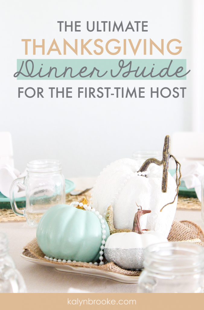 This year I'm hosting Thanksgiving & I am terrified! It seemed like such a great idea at the time: everyone will come to us, we won't have to travel, and we get to show off our new house! But my mind is spinning with everything I need to get done to pull this off! So glad this blogger has put together this checklist. I'm just going to follow it step-by-step and it will all be fine--maybe even epic! #hostingThanksgiving #Thanksgivingtips #funThanksgivingideas