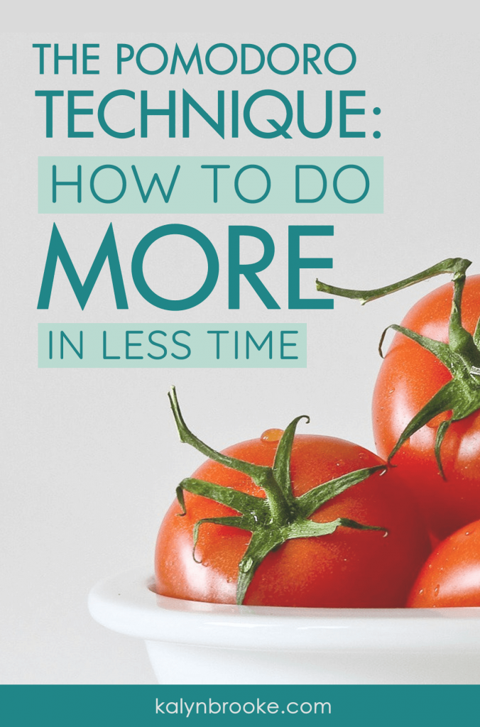 I'll be honest. When I first heard of the Pomodoro method, I was convinced it wouldn't work for me. Setting a timer? Puh-lease, sounds too simple to be true. Oh was I wrong! Once I got over myself, it was like I had game-ified my to-do list and infused fun into my day by trying to beat the clock--while still giving myself grace when I needed to RE-set the clock. Armed with the Pomodone app, I've never been more productive! #Pomodoro #Pomodoromethod #productivityhack