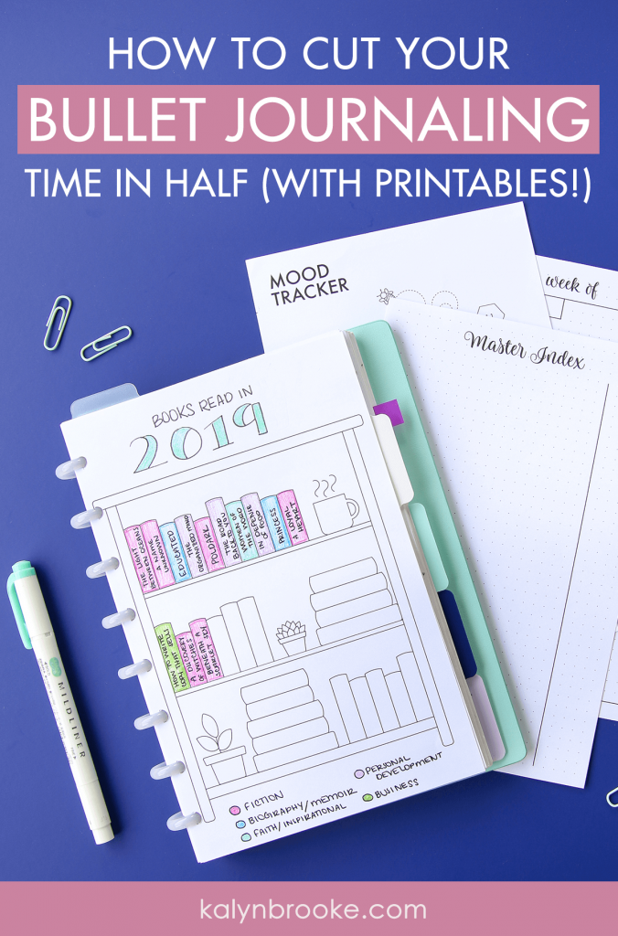 I've been wanting to try bullet journaling for years now but two things have held me back: I can't draw and I don't have the time to learn (much less the time to re-draw everything every day/week/month). But this changes everything! Not only are all these printables GORGEOUS, they're available to download from this library. Quick. Easy. Convenient. I'm a believer. #bulletjournaling #bulletjournalprintables #bulletjournalprintable