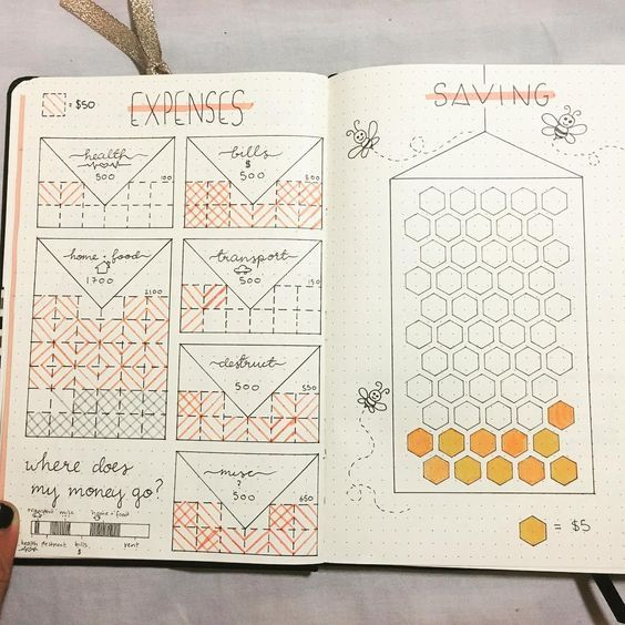 honeycomb savings tracker