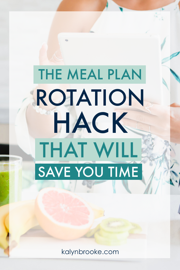 I did it. I ditched the weekly meal planning for a rotation instead! No more starting from scratch every week. Which means I'm never again asking, What's for dinner? It only took me less than half an hour to set up my monthly meal plan since this article has a template you can easily copy and personalize! #mealplanning #rotatingmealplan #monthlymealplan