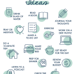 I'm not a morning person until 11am. But school drop-off demands I be up and at 'em early. So I made it a goal to develop a morning routine and commit to starting each day on MY terms. This list of 21 morning routine ideas was precisely what I needed to get me excited about a little me time in the mornings! #morningroutine #morningroutineideas #morningroutineformoms #easymorningroutine #bestmorningroutine